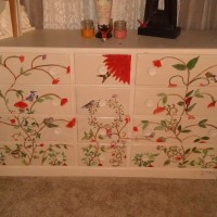Repurposed China Cabinet...the Bottom Half